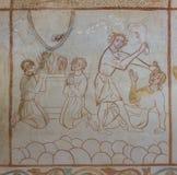 Offers aan God en Cain die Abel doden royalty-vrije stock foto's