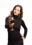 Offerta del vino. fotografia stock