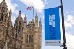 Offerta dell'Inghilterra per ospitare la tazza 2018 di mondo della FIFA. Fotografie Stock Libere da Diritti