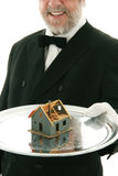 Offerta della casa Immagine Stock Libera da Diritti