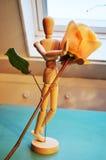 Offerta della rosa, simbolo fotografie stock libere da diritti