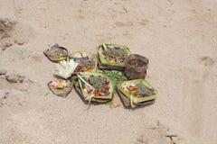 Offerta di Balinese Fotografia Stock Libera da Diritti