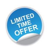 Offerta di tempo limitato royalty illustrazione gratis