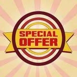 Offerta speciale Fotografie Stock