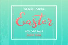 Offerta speciale di vendita di Pasqua Fotografia Stock Libera da Diritti