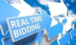 Offerta in tempo reale Fotografia Stock