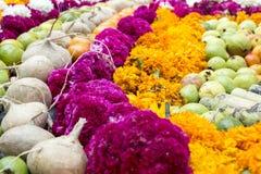 Offerta tradizionale ai morti nel Messico Fotografie Stock