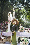 Offerta tradizionale ai morti nel Messico Immagini Stock Libere da Diritti