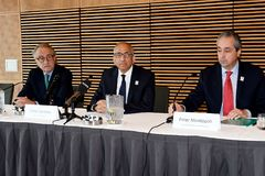 Offerta unita per ospitare la coppa del Mondo 2016 della FIFA fotografia stock libera da diritti