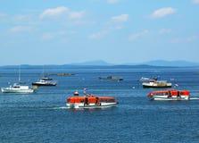 Offerte di Holland America Cruise Ship Maasdam Fotografia Stock Libera da Diritti