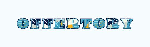 Offertory Concept Word Art Illustration