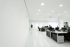 Office. Detail of the modern office space Royalty Free Stock Photography