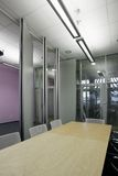 Office. Space with sliding walls and a glass wall Stock Photo