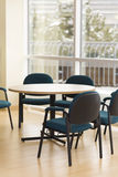 Office. Bright office space with table and chairs royalty free stock photography