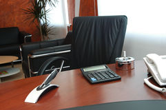 Office. Fragment of an office of the director Royalty Free Stock Image