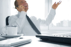 In office Royalty Free Stock Image