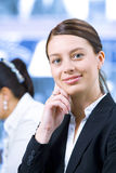 In the office Stock Photography