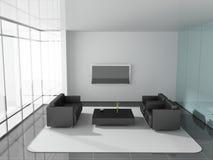 Office. Modern interior of the ofiice 3D Stock Photos