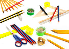 Office accessories Royalty Free Stock Images