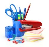 Office accessories Royalty Free Stock Image