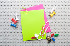 Office accessories Royalty Free Stock Photo