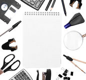 Office accessories . Royalty Free Stock Image
