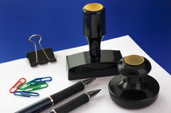Office accessories Stock Photography