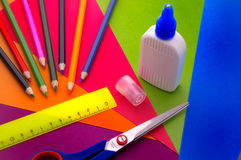 Office accessories Royalty Free Stock Photos