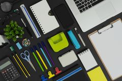 Office And School Stationery And Devices Supply. Stock Image