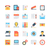 Office And Stationery Vector Icons 1 Stock Photo
