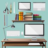 Office appliance vector stock photography