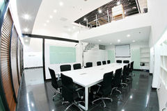 Office area conference room scene Royalty Free Stock Image