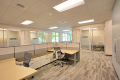 Office area Royalty Free Stock Images