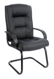 Office armchair of leather Royalty Free Stock Photo