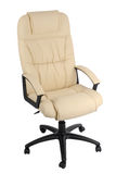 Office armchair of leather Stock Image