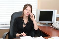 Office assistant stock images