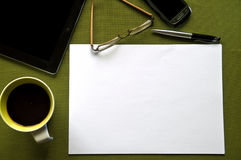 Office background Royalty Free Stock Photos