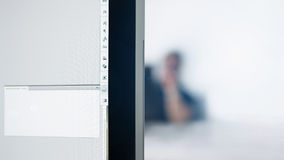 Office background person working Stock Images