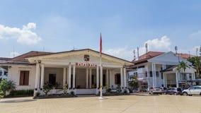 Office Balaikota市长在茂物,西爪哇省,印度尼西亚 免版税库存图片