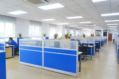 Office. Big office with modern decoration in Zhangjiang hi-tech zone, Pudong district, Shanghai Royalty Free Stock Photos