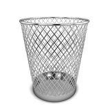 Office bin. 3d illustration  on white background Stock Image