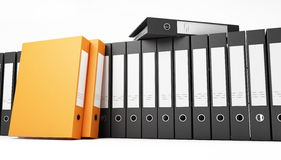 Office binder Royalty Free Stock Photography