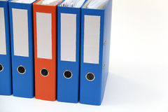 Office binder Stock Photo