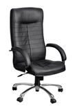 Office black armchair Royalty Free Stock Photo
