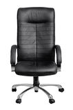 Office black armchair Royalty Free Stock Photos