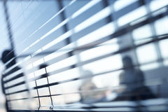 Office blinds Royalty Free Stock Image