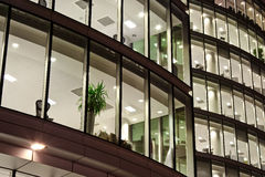 Free Office Block After Business Working Hour Royalty Free Stock Photography - 10530057
