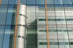 Office block reflection in Glasgow Royalty Free Stock Photo