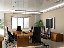 Office boardroom. Modern Office boardroom exclusive design Stock Images