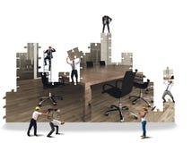 Office build Stock Photo